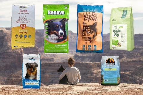 dry kibble vegan dog food choices